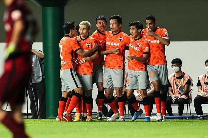 Shenzhen FC will take on Cangzhou Mighty Lions. Photo credit: @fcshenzhen Instagram