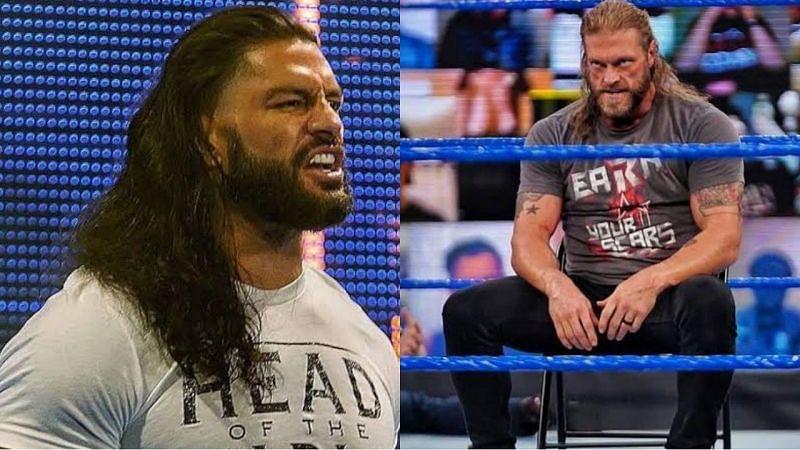 WWE यूनिवर्सल चैंपियन रोमन रेंस और ऐज