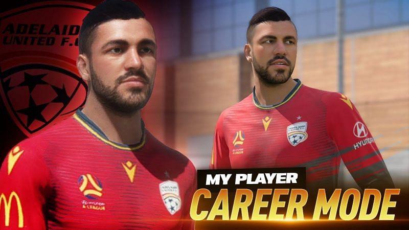 My Player Career mode. Image via YouTube