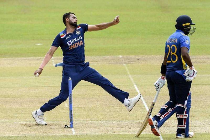 Deepak Chahar had a great run in ODIs against SL