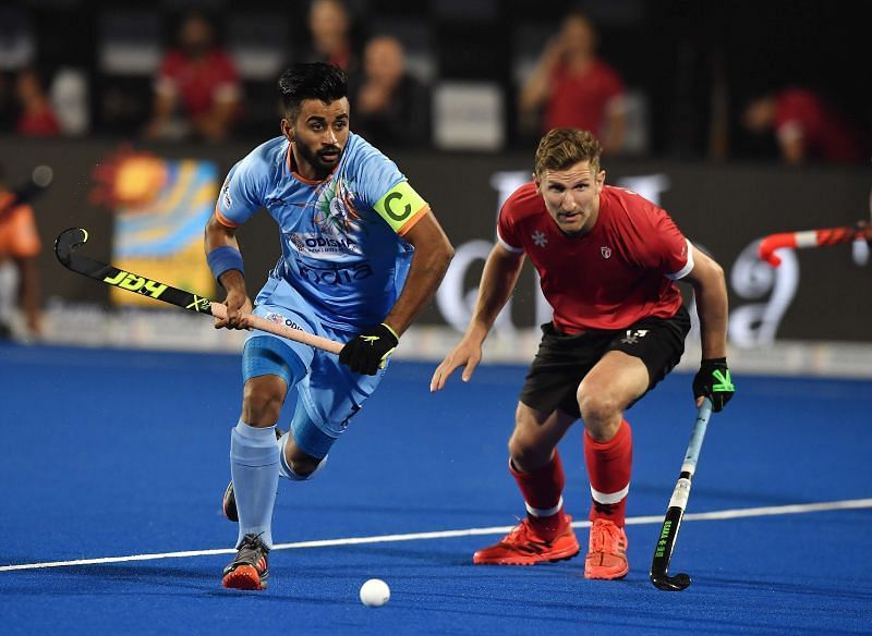 Manpreet Singh will be leading India at the Tokyo Olympics 2020.