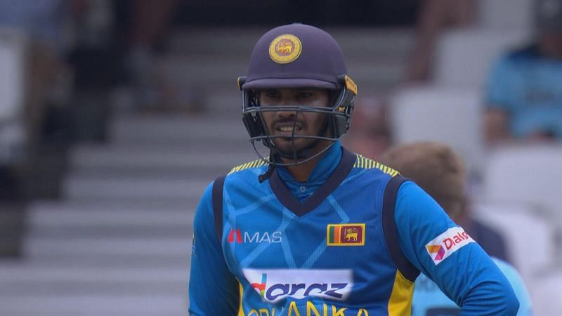 Dhananjaya de Silva was unlucky to miss out on his maiden ODI hundred.