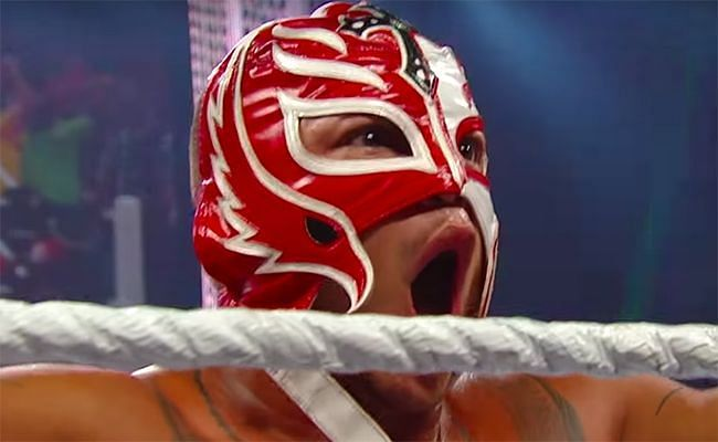 Only gravity can outsmart Rey Mysterio in WWE