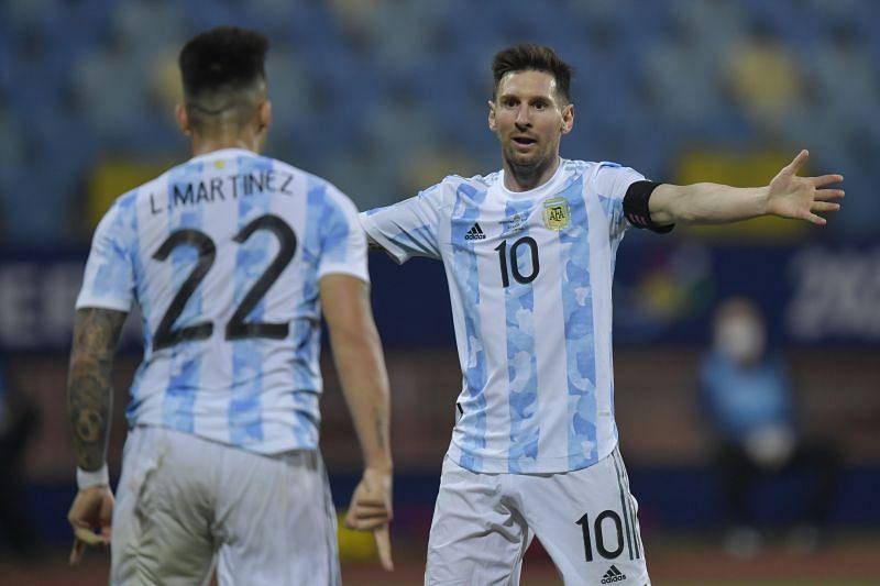 Argentina vs Ecuador: Quarterfinal - Copa America Brazil 2021