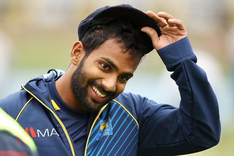 Chamika Karunaratne played a crucial knock in the first ODI against India