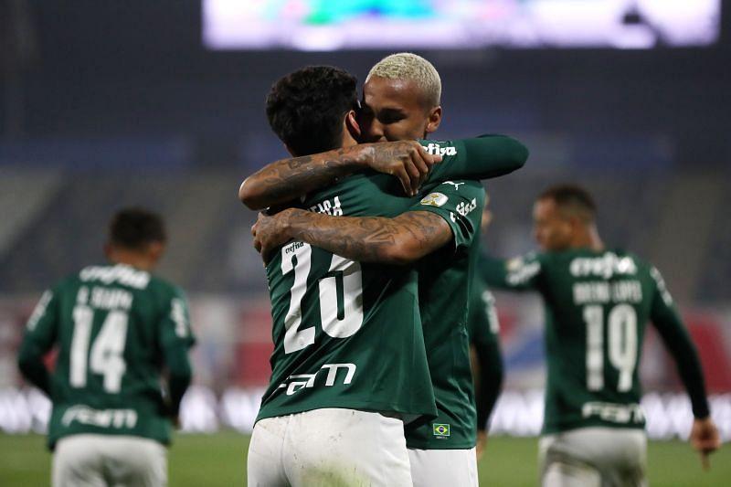 Atletico Goianiense take on Palmeiras on Sunday
