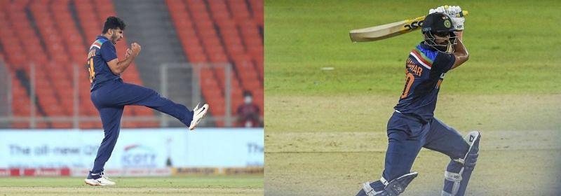 Shardul Thakur & Deepak Chahar (R).
