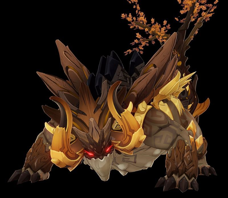 Azhdaha's Challenge can give the player some Dragon Lord's Crowns (Image via Genshin Impact Wiki)