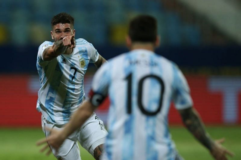 De Paul played his heart out today for Argentina