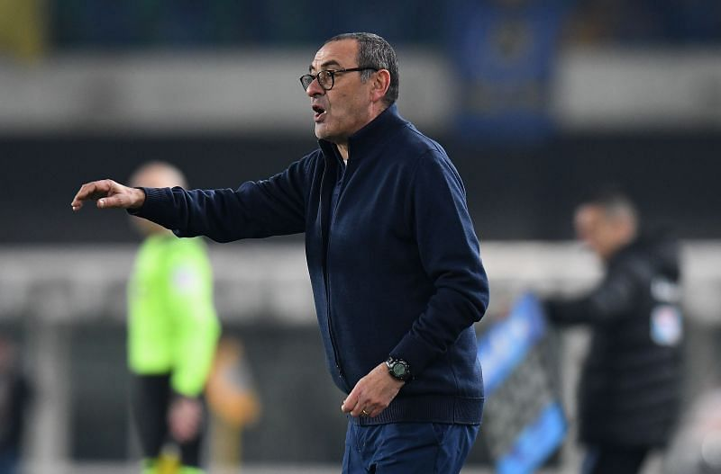 Former Juventus manager Maurizio Sarri. (Photo by Alessandro Sabattini/Getty Images)