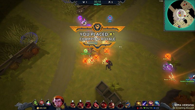 Battlerite presenta varios modos de juego (imagen a través de Stunlock Studios)