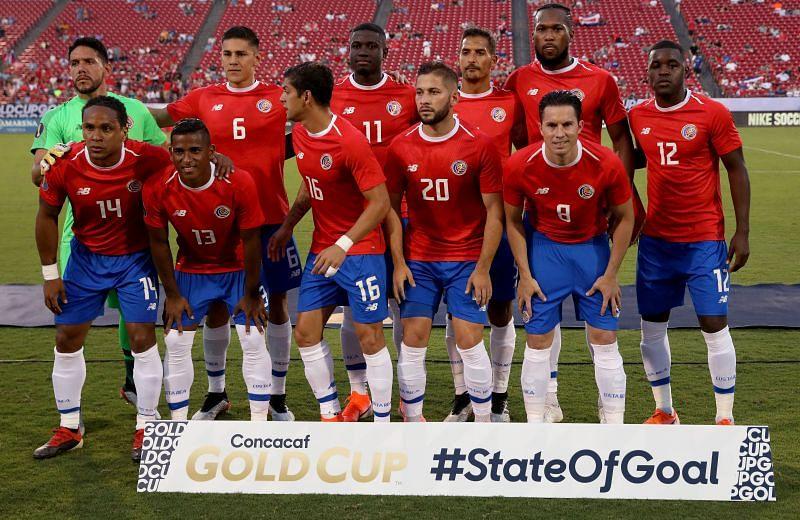 Costa Rica take on Suriname this week