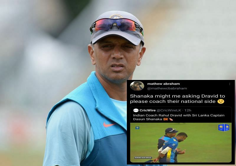 Rahul Dravid once again won the hearts of cricket fans with his humility.