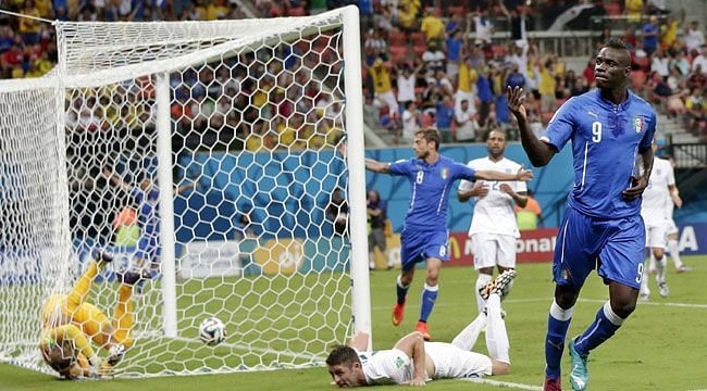 Mario Balotelli was the hero for Italy as the Azzurri recovered from a goal down to beat England