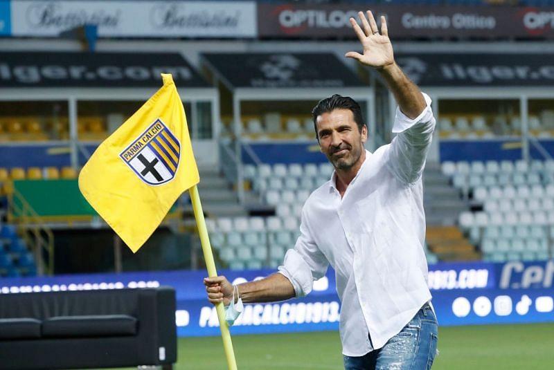 Buffon returned to his boyhood club Parma