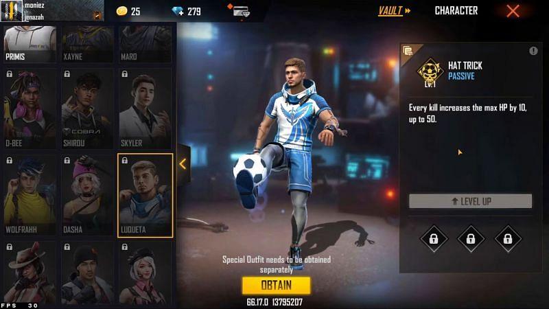 Luqueta has received a buff (Image via Moniez Gaming)