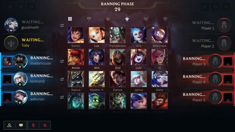 Riot's long-term goal is to increase the ban slots to five per team in Wild Rift (Image via Riot Games)