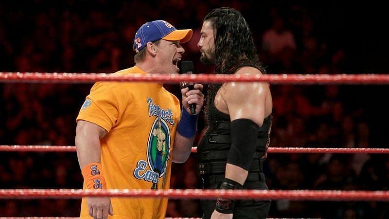 क्या SummerSlam में जॉन सीना और रोमन रेंस का मैच होगा?