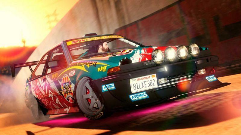 The Karin Futo GTF (Image via Rockstar Games)
