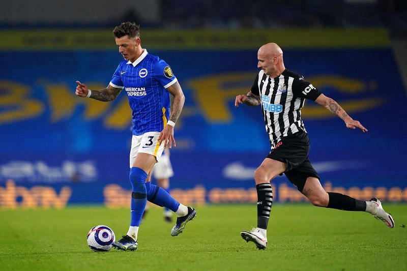 Brighton & Hove Albion defender Ben White is a target for Arsenal