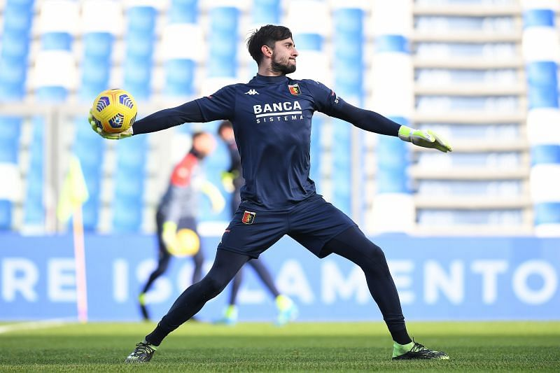 Perin spent 18 months on loan at Genoa