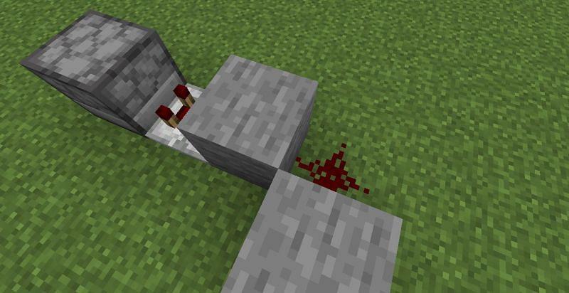 Colocar piedra roja (Imagen a través de Minecraft)