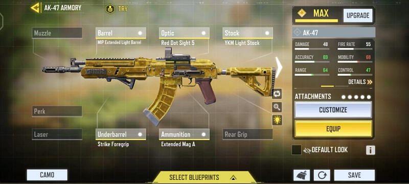 For medium-range aggressive approach (Image via Activision)