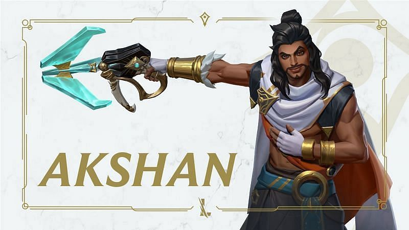 Akshan is the first champion to simultaneously make his debut in four Riot titles related to the universe of Runeterra (Image via Riot Games - Wild Rift)