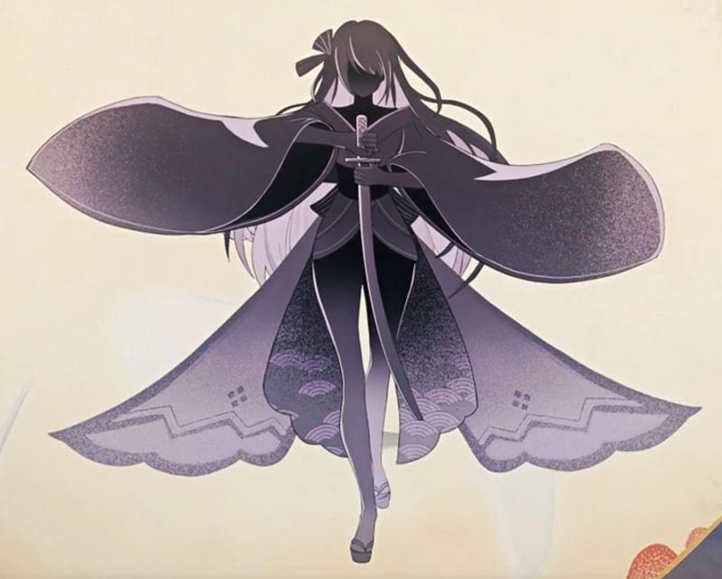 The Raiden Shogun, as seen in a cutscene (Image via Genshin Impact Wiki)