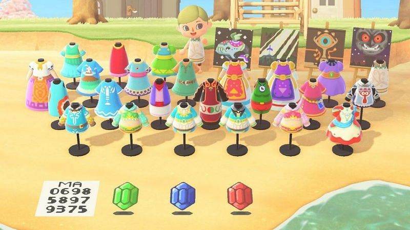 Zelda x Animal Crossing fan-made replication. Image via Zelda Dungeon