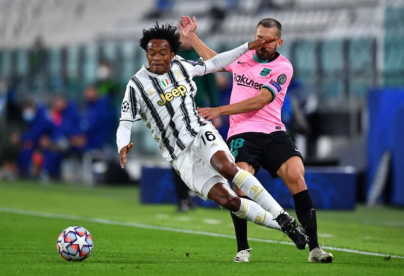 Juan Cuadrado in action for Juventus