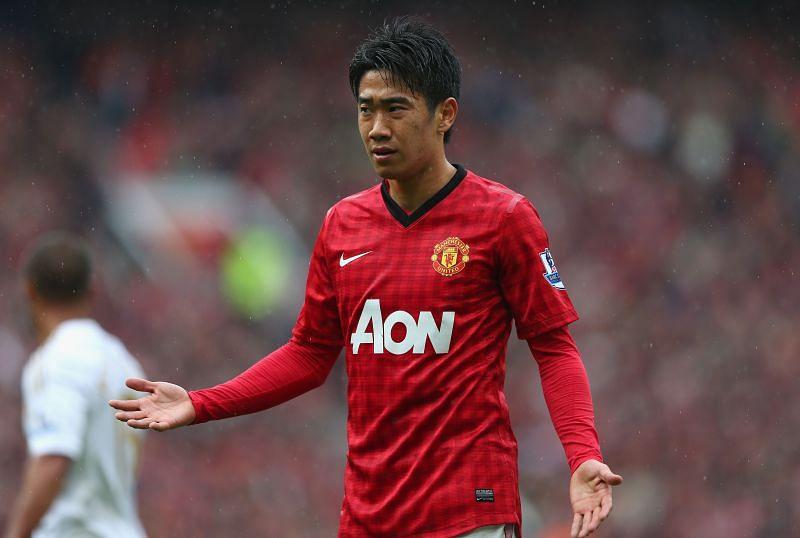 Shinji Kagawa spent two seasons at Manchester United