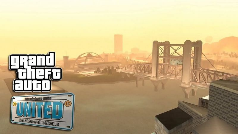 GTA United was an ambitious mod project that brought together many of GTA's 3D era maps in one game (Image via ClarionXK, YouTube)