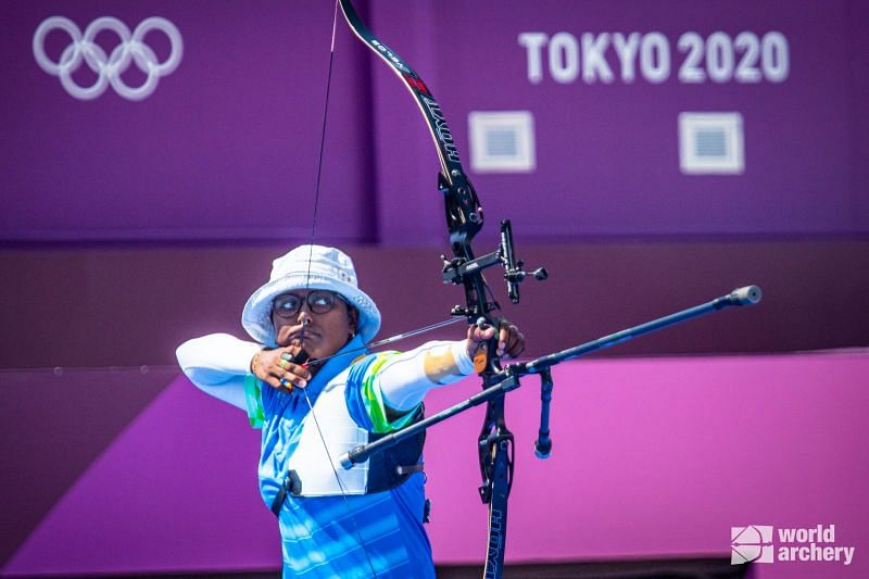 India's Deepika Kumari (PC: World Archery)