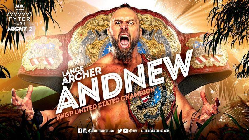 New IWGP US Champion Lance Archer