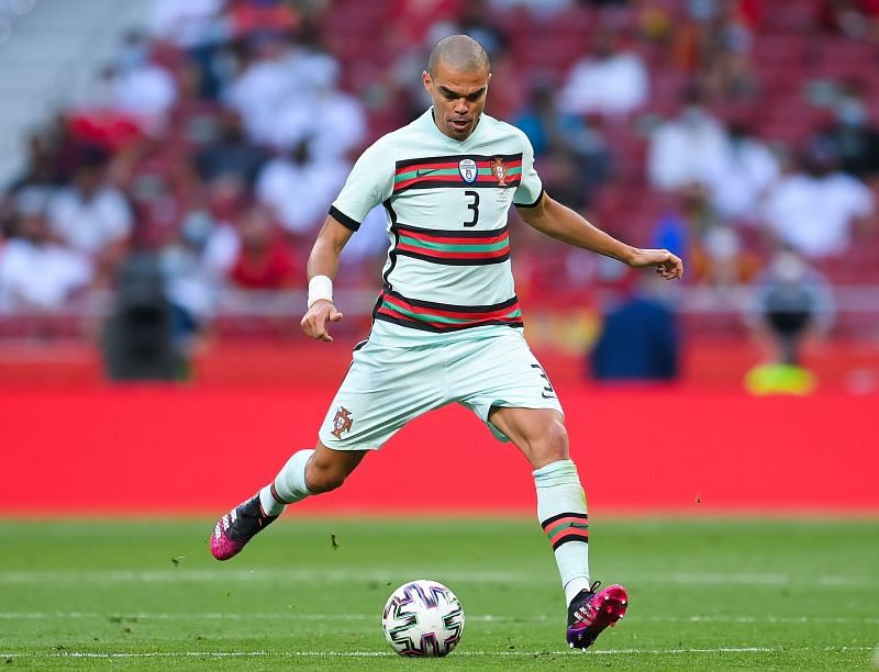 Pepe was the best defender for Portugal at Euro 2020