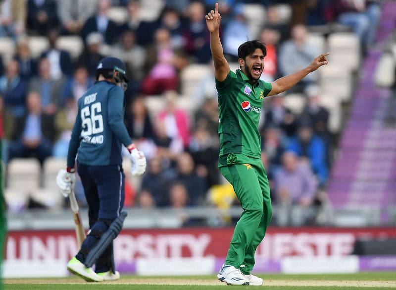Hasan Ali looks set to miss his side's first T20I against England