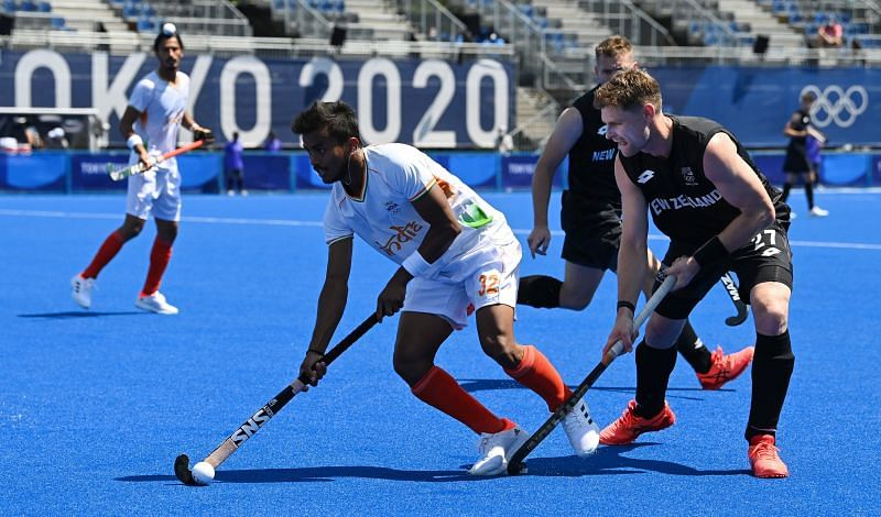 India gets through a tricky opener with a win (Image Courtesy: Hockey India)