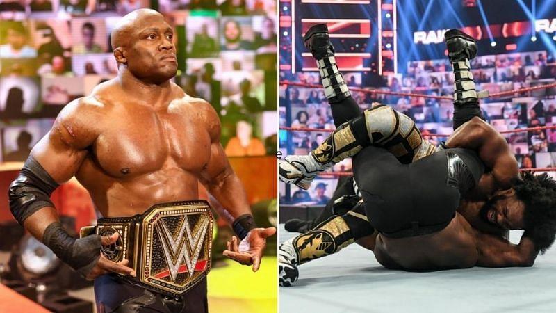 Bobby Lashley lost to Xavier Woods on RAW