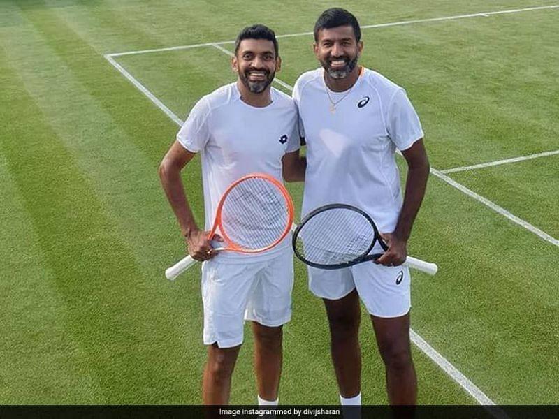 Divij Saran and Rohan Bopanna