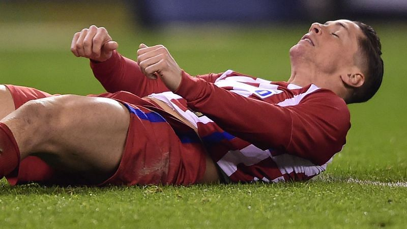 Fernando Torres suffered a horrific head injury after colliding with an opposition player.