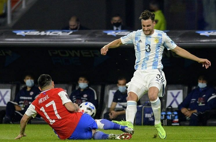 Tagliafico has impressed for Argentina at Copa America 2021.