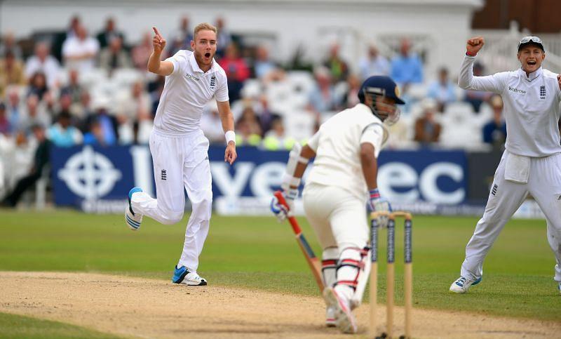 England v India