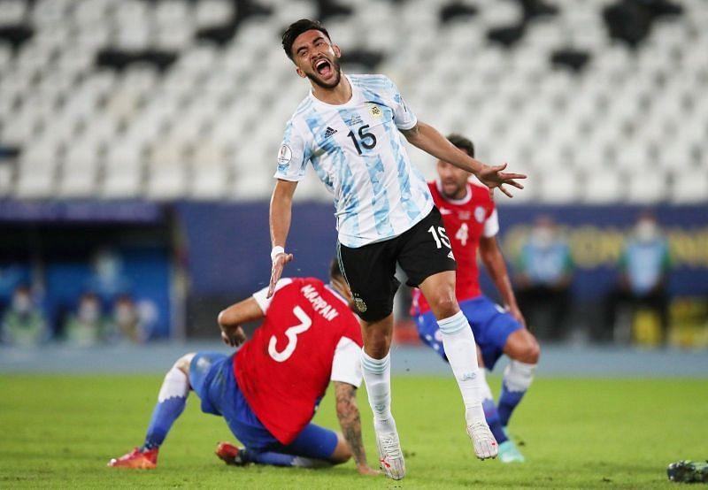 Gonzalez won the Copa America 2021 with Argentina