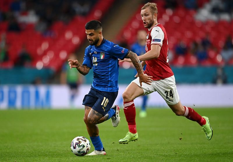 Lorenzo Insigne could have a huge say in Italy's Euro 2020 quarter-final match against Belgium