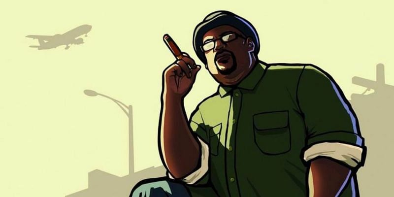 Big Smoke is a perfect example of an NPC that stands out (Image via Rockstar Games)