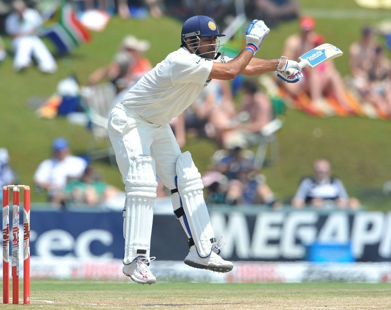 Dhoni looked ungainly at times but battled his way to 90 at Centurion