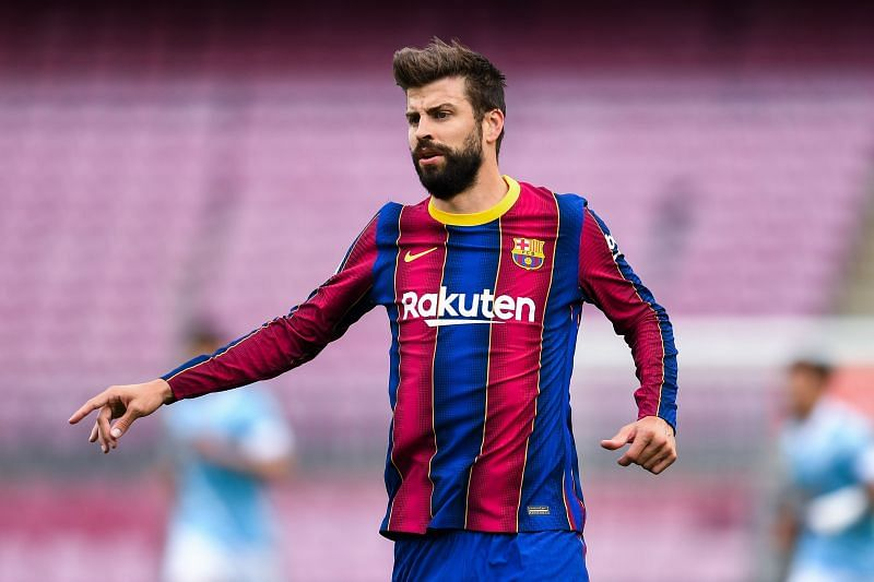 Pique will lead the backline once again