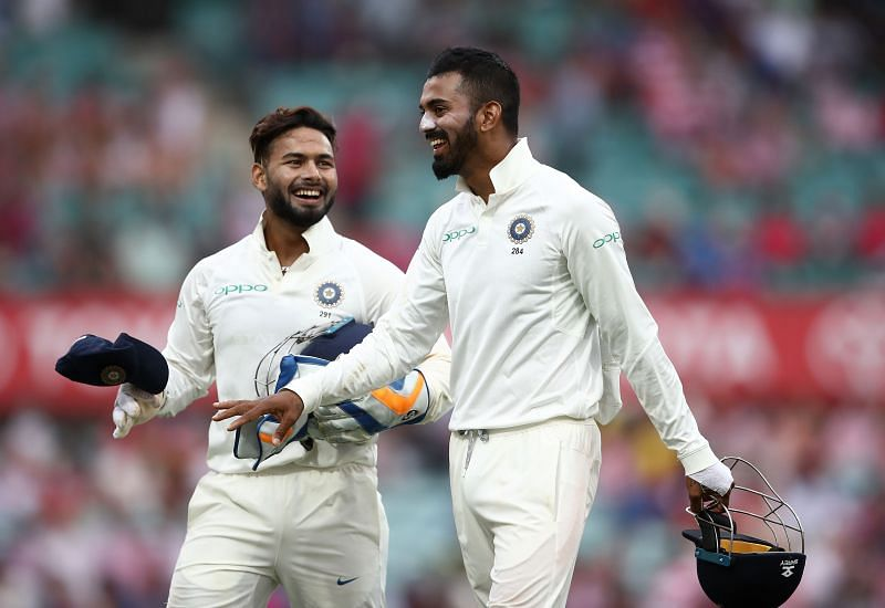Pant and Rahul both had a great time in India's last tour to England in 2018