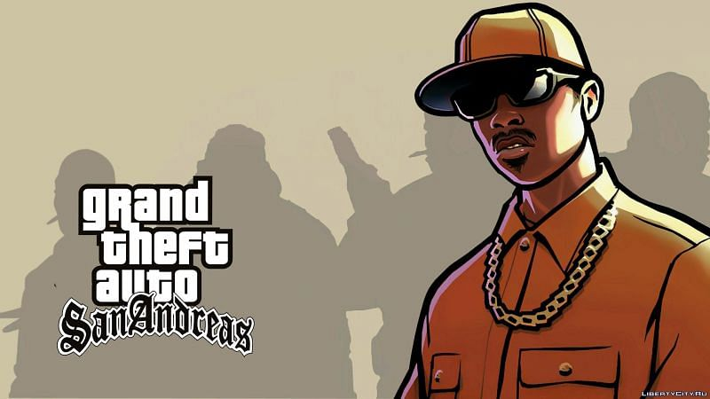 Official art of OG Loc (which is constantly mistaken as CJ) (Image via Rockstar Games)